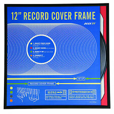 "dotcomgiftshop BLACK 12"" VINYL RECORD ALBUM COVER FRAME RETRO GIFT"