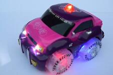 PINK POLICE SIREN LIGHT & SOUND RADIO REMOTE CONTROL CAR TAXI 2 CHANNEL