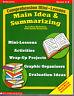 MAIN IDEA & SUMMARIZING - SCHOLASTIC MINI LESSONS GRADES 4-8