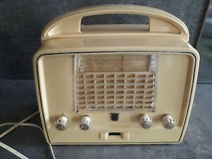 Ancienne radio poste TSF à lampes Radiola Bakélite