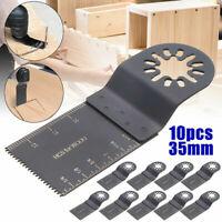 10PCS/SET Oscillating Multi Tool Saw Blade For Bosch Fein Multimaster Makita