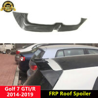 Golf 7 GTI R Spoiler Gloss Black Roof Wing for Volkswagen MK7 VII O Style