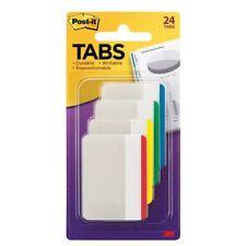 New Post It Tabs Durable Filing Tabs Writable 24pk 2 X 15 File Folder 686f 1