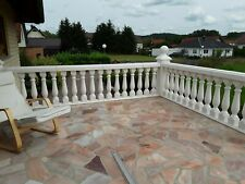 Pfeiler Geländer Balustraden Balkongeländer Balustrade  Treppengeländer Beton