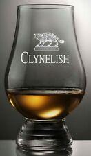 CLYNELISH DISTILLERY LOGO GLENCAIRN SCOTCH WHISKY TASTING GLASS