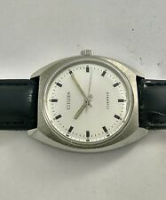 #Vintage Citizen 63-8111 Hand Winding Watch cal.2520 Silver Dial**Excellent L2