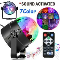 Party Disco Lights Strobe LED Dj Ball Sound Activated Dance Bulb Lamp w/ Remote