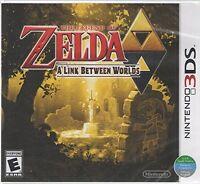 The Legend of Zelda - A Link Between Worlds - 3DS (World Edition)
