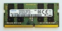 Samsung 16GB DDR4 2666MHz Laptop RAM ~ PC4-21300 2666V SODIMM Memory 260pin VAT