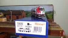 """Roco 73978 193 640-0 / X4 E-640 MRCE livrea commemorativa """"Connected by Rail"""""""