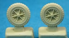 Bf 109 F-G4 Wheels (second pattern spoked rims), 48162 Ultracast 1/48