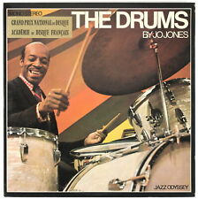 JO JONES - The Drums - France Double LP Jazz Odyssey
