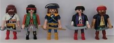 Playmobil    5 x Assorted Pirates with Accessories    Good Condition