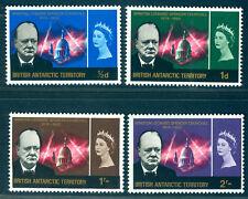 British ANTARTIC TERRITORY 1966 Winston Churchill set  SG# 16-19 mint MNH