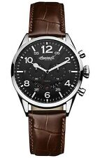 Ingersoll Men's Inq029grsl Compton Analog Display Japanese Quartz Brown Watch