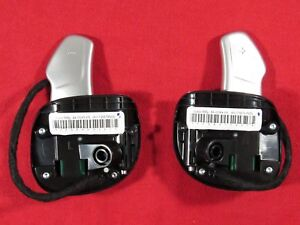 DODGE CHRYSLER JEEP Left&Right Steering Wheel Paddle Shifter Set NEW OEM MOPAR