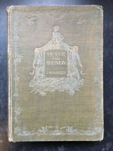Peter and Wendy Barrie JM 1911 Hodder Stoughton UK edition Illustrated Bedford