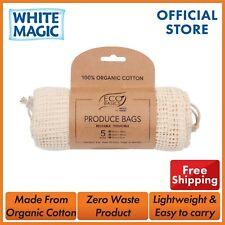 White Magic - Eco Basics Produce Bags Set of 5