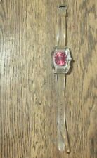 VINTAGE SWISS MECHANICAL WATCH FABULEUX LUCERNE CLEAR  ACRYLLIC CASE 1970'S