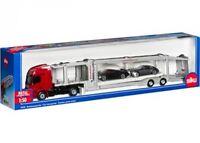 SIKU 1:50 CAMION TRASPORTATORE CON 2 MACCHININE  CAR TRANSPORTER  ART 3934