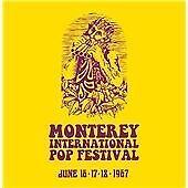 NEW/SEALED 4 CD BOX Monterey International Pop Festival (Jimi Hendrix,Who,Byrds)