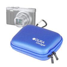 Blue Action Carry Case with Belt Clip for Panasonic Lumix DMC-TZ70 & DMC-TZ57
