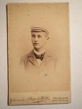 Wingolf Berlin - Robert Waetzmann - 1897 - CDV / wohnte in Erfurt