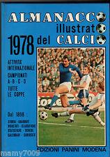 ALMANACCO ILLUSTRATO DEL CALCIO 1978=EDIZIONI PANINI=ROBERTO BETTEGA COVER