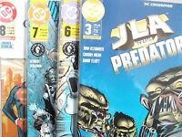 AUSWAHL = DC Crossover Heft 1 - 11 ( PANINI 2001-2003 ) Neuwertig