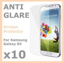 10 x Anti Glare Screen Protector Matte Film for Samsung Galaxy S4 SIV i9500 i950