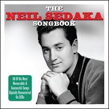 Neil Sedaka NEIL SEDAKA SONGBOOK Best Of 50 Songs COLLECTION New Sealed 2 CD