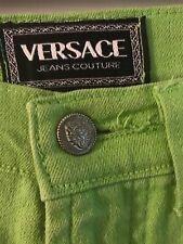 AUTHENTIC Men's VERSACE  JEANS COUTURE GREEN VINTAGE CLASSIC SIZE