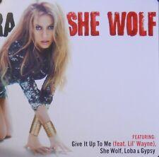 SHAKIRA, SHE WOLF POSTER (M9)