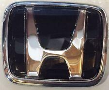 New OEM JDM Honda S2000 Black H emblem set(front and rear) fits all 1999 - 2009
