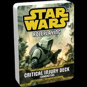 FFG Star Wars Critical Injury Deck - Characters New