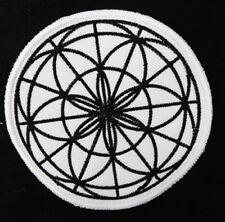 Flor De La Vida Celta Patch Correcciones Insignia Bordado Coser símbolo Círculo 10cm