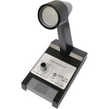Micrófono de estación base de radio CB ZETAGI MB+4 Preamplificador 23dB frecuencia 250 - 3500 Hz