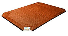 New Small Coolaroo Elevated Pet Dog Bed Replacement Cover Mat Cot - Terra Cotta