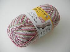 (ab 9,00 EUR/100g) Regia Tutti Frutti Color Cotton Sockenwolle 100g o 600g