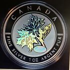 2003 Canada $5 Fine Silver Coin - Good Fortune Maple Leaf