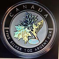 2003 Canada $5 Fine Silver Coin - Good Fortune Maple Leaf