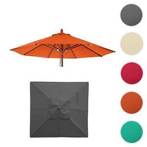 Bezug für Sonnenschirm HWC-C57, Sonnenschirmbezug Ersatzbezug, Polyester 3kg