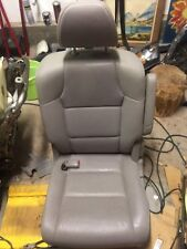 2016 Honda Odyssey Driver Side Center Bucket Seat Grey Leather OEM