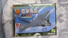 1/173 Scale 4D Assembled J-20 stealth fighter Plastic Model