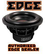 EDGE Car Audio EDS15D2-E7 Car Audio Subwoofer Dual 2 ohm 1800w RMS / 5400w peak