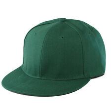 Fashion Blank Plain Snapback Hats Hip-Hop Adjustable Baseball Caps Bboy Caps