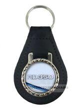 YAMAHA RD 350 LC  MOTORCYCLE  leather  keyring keychain keyfob
