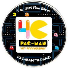 Niue - 2 Dollar 2020 - Pac-Man™ - 40. Jubiläum - 1 Oz Silber ST - in Farbe