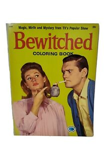 Vintage 1965 Bewitched Treasure Coloring Story Book Screen Gems Inc