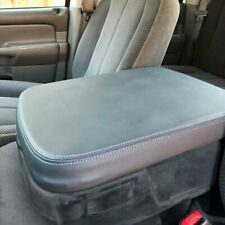 Armrest Center Console Lid Leather Synthetic Cover for Dodge Ram 02-08 Gray Part